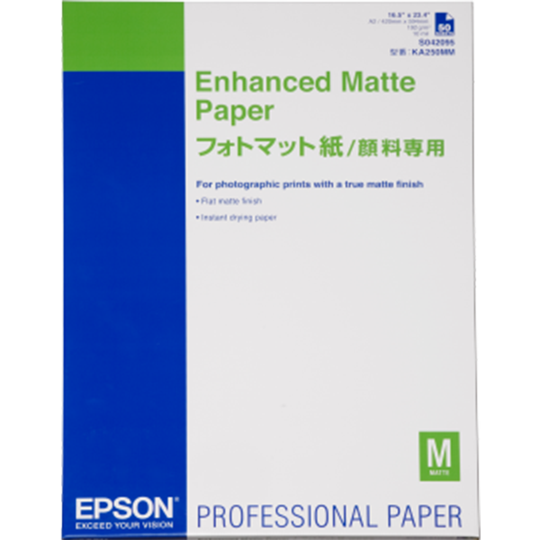 Enhanced Matte Paper