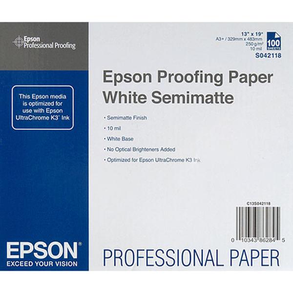 Proofing Semimatte Paper